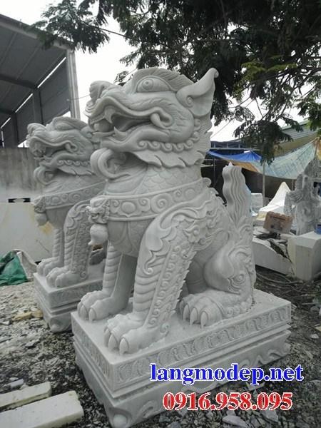 86 Mẫu Hình ảnh nghê phong thủy nhà thờ họ đình đền chùa miếu khu lăng mộ bằng đá tại Tuyên Quang