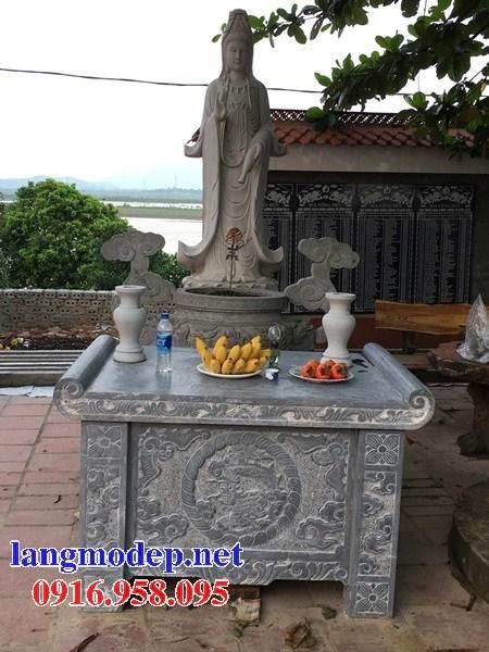 86 Mẫu bàn lễ nhà thờ họ đình đền chùa miếu khu lăng mộ bằng đá Thanh Hóa tại Tuyên Quang