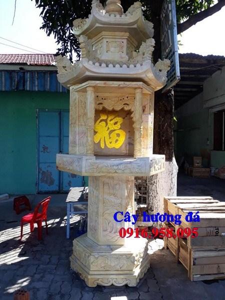 86 Mẫu bàn thờ thiên cây hương miếu thờ nhà thờ họ đình đền chùa miếu khu lăng mộ bằng đá vàng tại Tuyên Quang