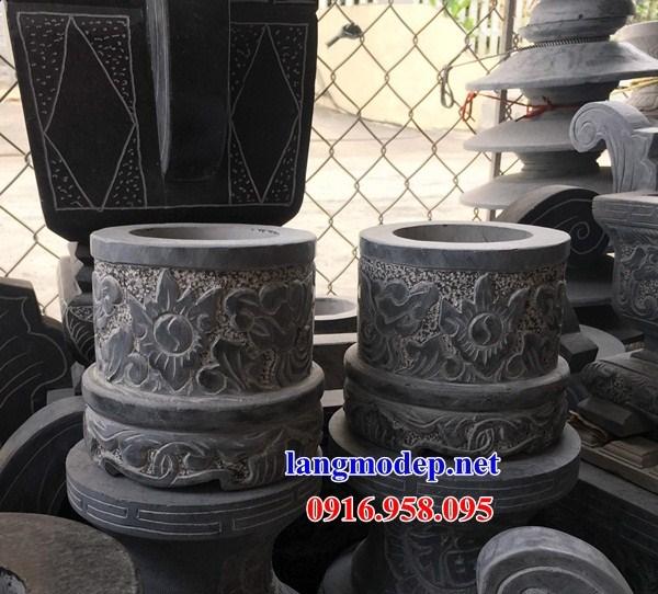 86 Mẫu bát hương bình bông nhà thờ họ đình đền chùa miếu khu lăng mộ bằng đá tại Tuyên Quang