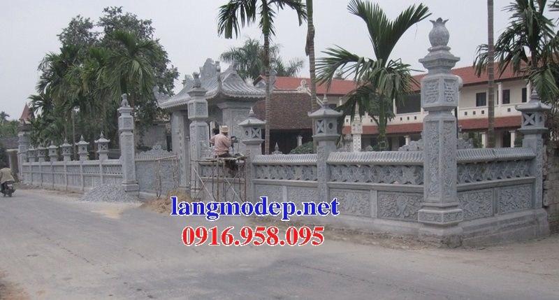 86 Mẫu cổng nhà thờ họ đình đền chùa miếu khu lăng mộ bằng đá tại Tuyên Quang
