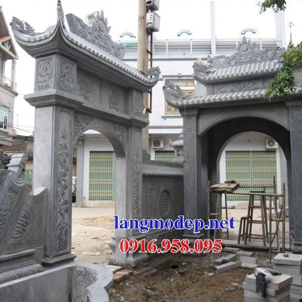 86 Mẫu cổng nhà thờ họ bằng đá tại Tuyên Quang