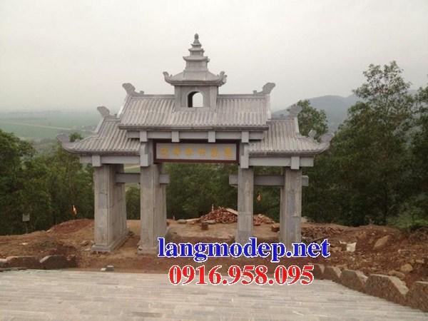 86 Mẫu cổng tam quan nhà thờ họ đình đền chùa miếu khu lăng mộ bằng đá tại Tuyên Quang