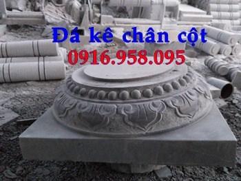 86 Mẫu chân cột chân tảng nhà thờ họ đình đền chùa miếu khu lăng mộ bằng đá Ninh Bình tại Tuyên Quang