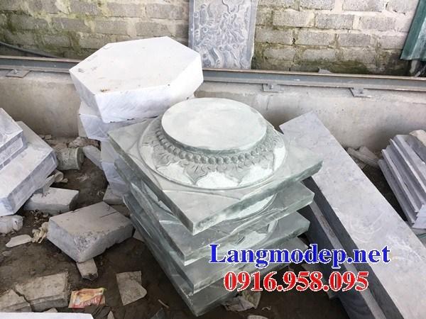86 Mẫu chân cột chân tảng nhà thờ họ đình đền chùa miếu khu lăng mộ bằng đá nguyên khối tại Tuyên Quang
