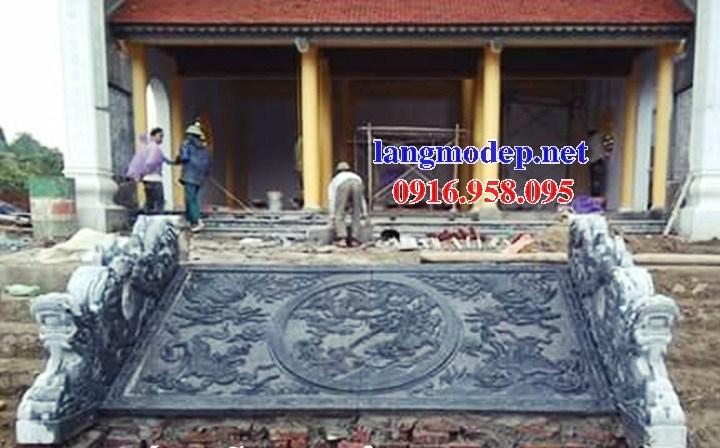 86 Mẫu chiếu rồng nhà thờ họ đình đền chùa miếu khu lăng mộ bằng đá tại Tuyên Quang