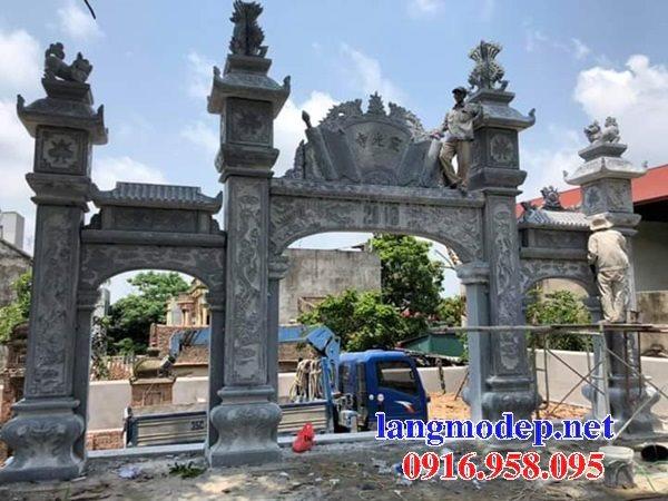 86 Mẫu cuốn thư bức bình phong nhà thờ họ đình đền chùa miếu khu lăng mộ bằng đá tại Tuyên Quang