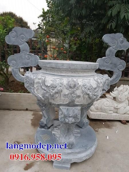 86 Mẫu lư hương đỉnh đèn nhà thờ họ đình đền chùa miếu khu lăng mộ bằng đá Ninh Bình tại Tuyên Quang