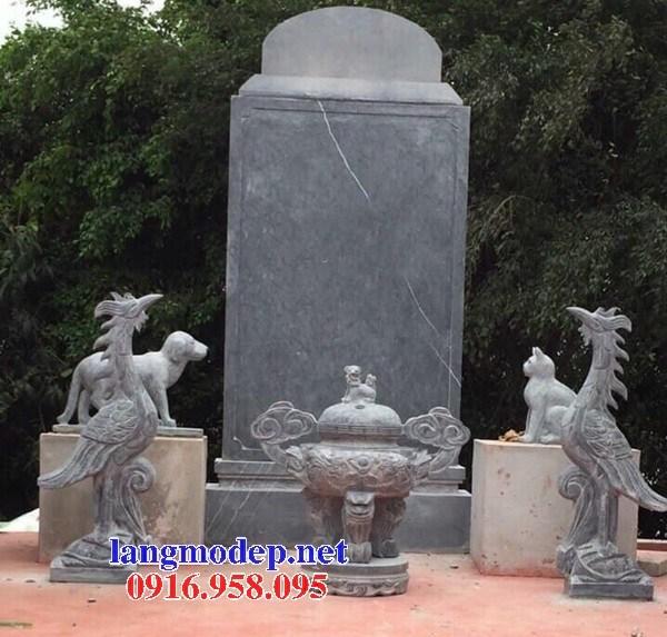 86 Mẫu lư hương đỉnh đèn nhà thờ họ đình đền chùa miếu khu lăng mộ bằng đá tại Tuyên Quang
