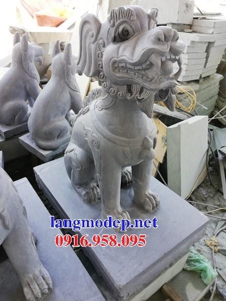 86 Mẫu nghê phong thủy nhà thờ họ đình đền chùa miếu khu lăng mộ bằng đá tại Tuyên Quang