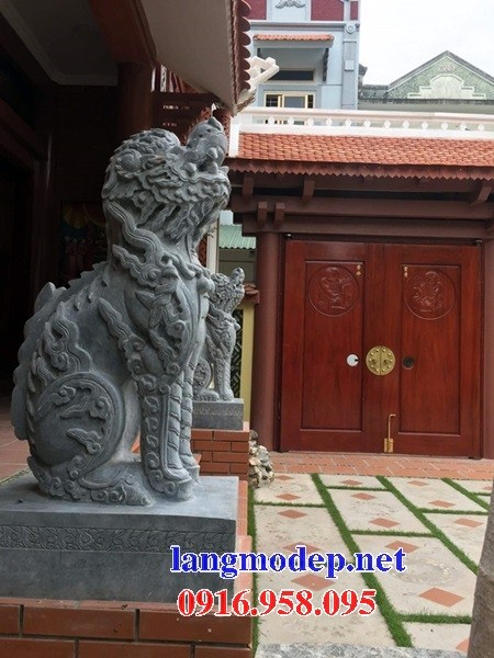 86 Mẫu nghê phong thủy nhà thờ họ đình đền chùa miếu khu lăng mộ bằng đá tự nhiên cao cấp tại Tuyên Quang