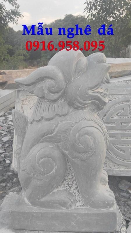 86 Mẫu nghê phong thủy nhà thờ họ đình đền chùa miếu khu lăng mộ bằng đá tự nhiên tại Tuyên Quang