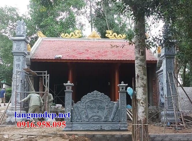 86 Mẫu nhà thờ họ bằng đá tại Tuyên Quang
