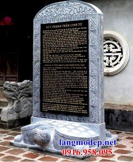 86 Mẫu rùa cõng bia ghi danh nhà thờ họ đình đền chùa miếu khu lăng mộ bằng đá tại Tuyên Quang