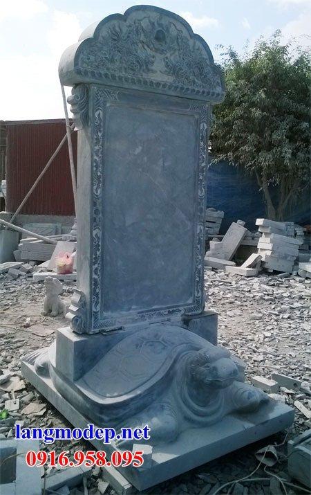 86 Mẫu rùa cõng bia ghi danh nhà thờ họ đình đền chùa miếu khu lăng mộ bằng đá tự nhiên tại Tuyên Quang
