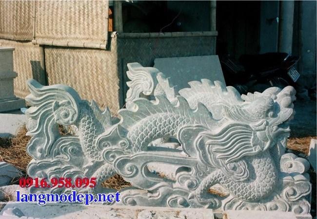 86 Mẫu rồng nhà thờ họ đình đền chùa miếu khu lăng mộ bằng đá tại Tuyên Quang