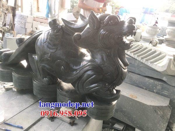 86 Mẫu tỳ hưu phong thủy nhà thờ họ đình đền chùa miếu khu lăng mộ bằng đá đen tại Tuyên Quang