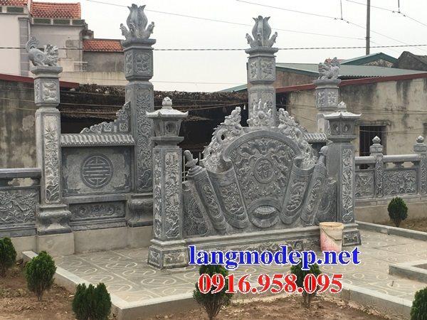 88 Mẫu Địa chỉ bán báo giá cuốn thư bức bình phong nhà thờ họ đình đền chùa miếu khu lăng mộ bằng đá tại Thái Bình