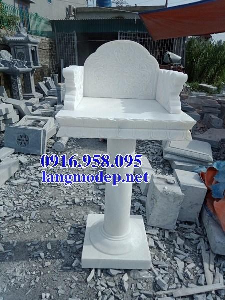 88 Mẫu bàn thờ thiên nhà thờ họ đình đền chùa miếu khu lăng mộ bằng đá trắng tại Thái Bình