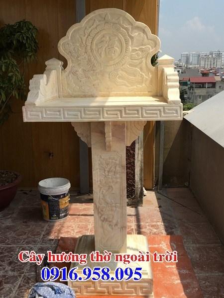 88 Mẫu bàn thờ thiên nhà thờ họ đình đền chùa miếu khu lăng mộ bằng đá vàng tại Thái Bình