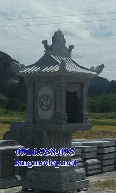 88 Mẫu cây hương miếu thờ thần linh nhà thờ họ đình đền chùa miếu khu lăng mộ bằng đá tại Thái Bình