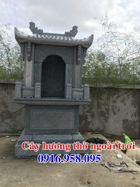 88 Mẫu cây hương miếu thờ thần linh nhà thờ họ đình đền chùa miếu khu lăng mộ bằng đá thiết kế đẹp tại Thái Bình