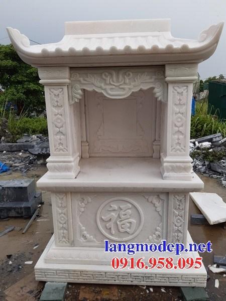 88 Mẫu cây hương miếu thờ thần linh nhà thờ họ đình đền chùa miếu khu lăng mộ bằng đá trắng tại Thái Bình