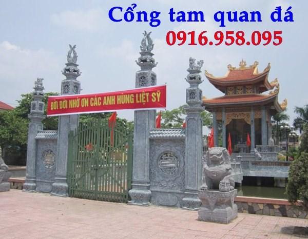 88 Mẫu cổng nhà thờ họ bằng đá tại Thái Bình
