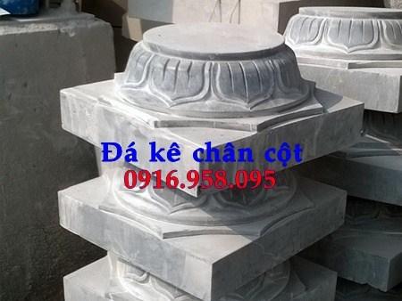88 Mẫu chân cột chân tảng nhà thờ họ đình đền chùa miếu khu lăng mộ bằng đá đặt tại Thái Bình