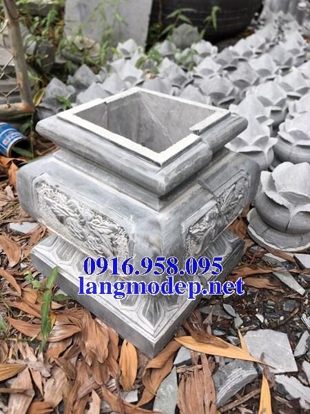 88 Mẫu chân cột chân tảng nhà thờ họ đình đền chùa miếu khu lăng mộ bằng đá chạm khắc tinh xảo tại Thái Bình