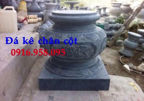 88 Mẫu chân cột chân tảng nhà thờ họ đình đền chùa miếu khu lăng mộ bằng đá tự nhiên cao cấp tại Thái Bình
