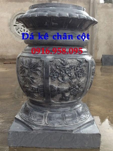 88 Mẫu chân cột chân tảng nhà thờ họ đình đền chùa miếu khu lăng mộ bằng đá thiết kế đẹp tại Thái Bình