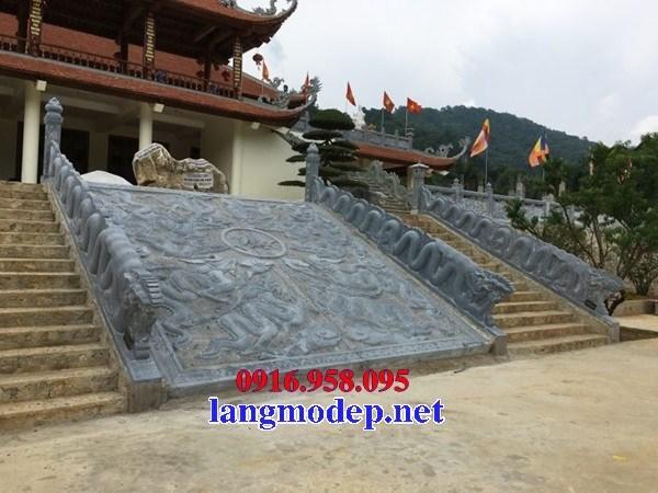 88 Mẫu chiếu rồng nhà thờ họ đình đền chùa miếu khu lăng mộ bằng đá đặt tại Thái Bình