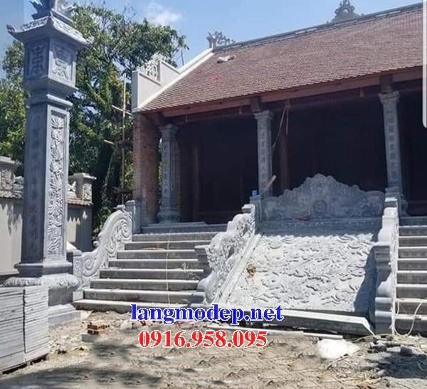88 Mẫu chiếu rồng nhà thờ họ đình đền chùa miếu khu lăng mộ bằng đá tại Thái Bình