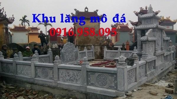 88 Mẫu lan can tường rào nhà thờ họ đình đền chùa miếu khu lăng mộ bằng đá chạm khắc tinh xảo tại Thái Bình