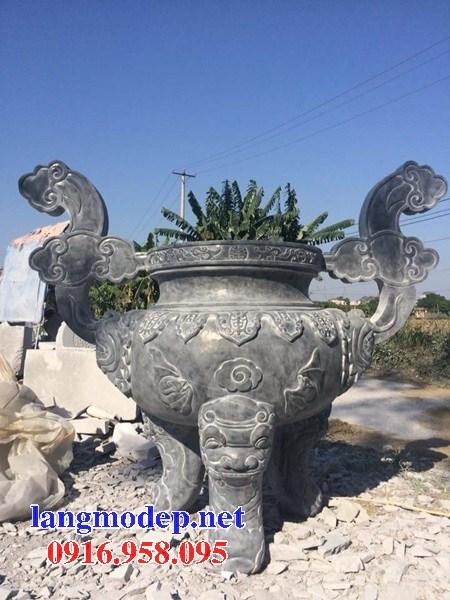 88 Mẫu lan can tường rào nhà thờ họ đình đền chùa miếu khu lăng mộ bằng đá nguyên khối tại Thái Bình