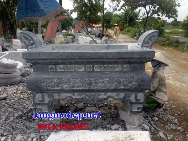 88 Mẫu lan can tường rào nhà thờ họ đình đền chùa miếu khu lăng mộ bằng đá thiết kế đẹp tại Thái Bình