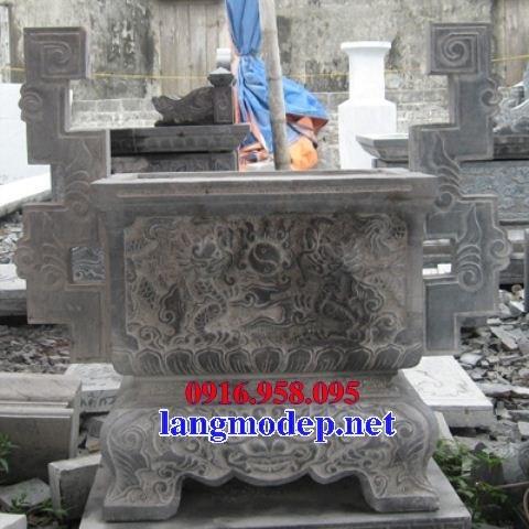88 Mẫu lan can tường rào nhà thờ họ đình đền chùa miếu khu lăng mộ bằng đá thiết kế hiện đại tại Thái Bình
