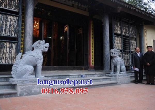 88 Mẫu nghê phong thủy nhà thờ họ đình đền chùa miếu khu lăng mộ bằng đá đặt ại Thái Bình