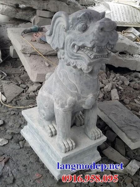 88 Mẫu nghê phong thủy nhà thờ họ đình đền chùa miếu khu lăng mộ bằng đá Ninh Bình tại Thái Bình