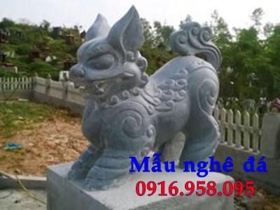 88 Mẫu nghê phong thủy nhà thờ họ đình đền chùa miếu khu lăng mộ bằng đá tại Thái Bình
