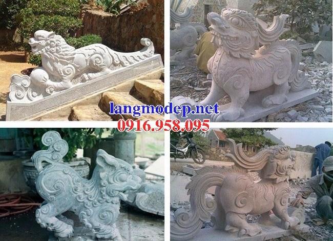 88 Mẫu nghê phong thủy nhà thờ họ đình đền chùa miếu khu lăng mộ bằng đá thiết kế đẹp tại Thái Bình