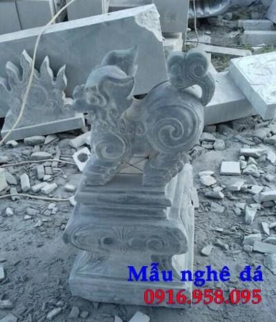 88 Mẫu nghê phong thủy nhà thờ họ đình đền chùa miếu khu lăng mộ bằng đá thiết kế cơ bản tại Thái Bình