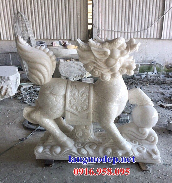 88 Mẫu nghê phong thủy nhà thờ họ đình đền chùa miếu khu lăng mộ bằng đá trắng tại Thái Bình
