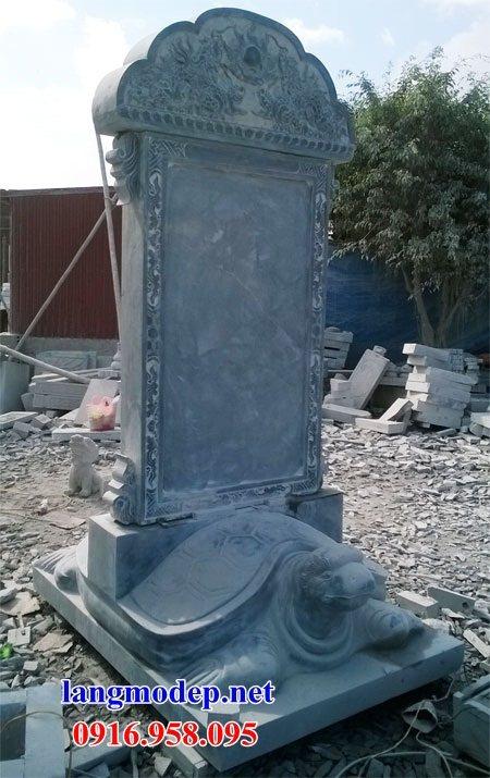 88 Mẫu rùa cõng bia ghi danh nhà thờ họ đình đền chùa miếu khu lăng mộ bằng đá Ninh Bình tại Thái Bình