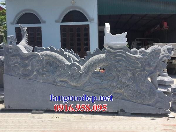 88 Mẫu rồng nhà thờ họ đình đền chùa miếu khu lăng mộ bằng đá xanh tại Thái Bình