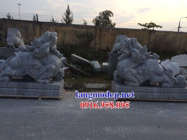 88 Mẫu tỳ hưu phong thủy nhà thờ họ đình đền chùa miếu khu lăng mộ bằng đá đặt tại Thái Bình