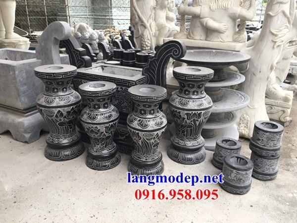92 Mẫu Địa chỉ bán báo giá bát hương bình bông nhà thờ họ đình đền chùa miếu khu lăng mộ bằng đá tại Phú Thọ