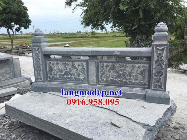 92 Mẫu Địa chỉ bán báo giá lan can tường rào nhà thờ họ đình đền chùa miếu khu lăng mộ bằng đá tại Phú Thọ