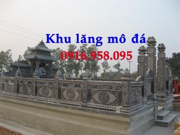 92 Mẫu Hình ảnh lan can tường rào nhà thờ họ đình đền chùa miếu khu lăng mộ bằng đá tại Phú Thọ